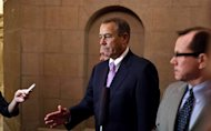 U.S. Speaker of the House of Representatives John Boehner (R-OH) walks to his office in the U.S. Capitol after meeting with U.S. President Barack Obama at the White House in Washington December 17, 2012. REUTERS/Joshua Roberts