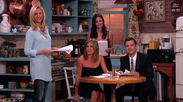 Jimmy Kimmel's Fanfic-Fueled Friends Reunion: The One With Ross's Lovemaking (VIDEO)