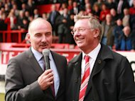 Willie Miller (left) was removed from his role as Aberdeen's director of football on Tuesday