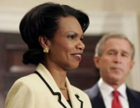 Vice President Condoleezza Rice Sounds Pretty Good to Me and a Lot of Americans