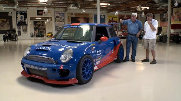 Jay Leno's Garage twin-engine Mini