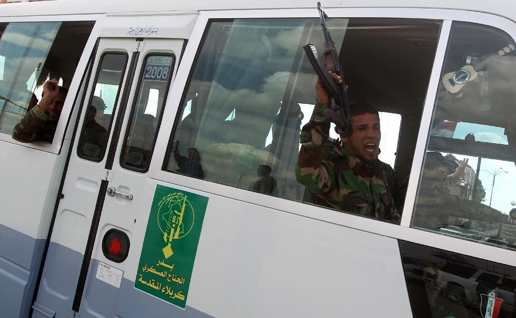 Iraqi Shiite militias 'pulled back' from Tikrit: US