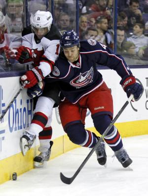 CBJ beat Devils 4-1 behind Bobrovsky's 24 saves