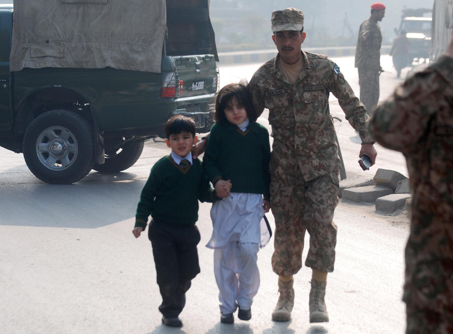 Anger and grief as Pakistan buries students massacred at school