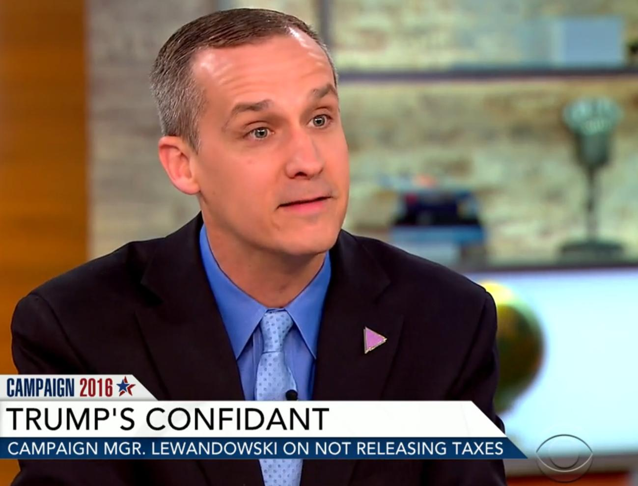 'The question is transparency': Trump campaign manager spars with CBS anchors over Trump's tax returns