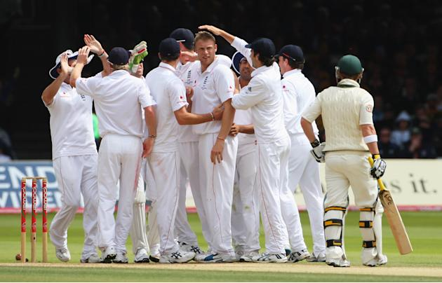 England v Australia - npower 2nd Ashes Test: Day Four