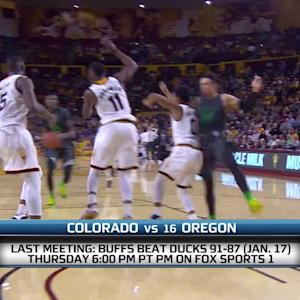 Colorado-Oregon men's basketball preview