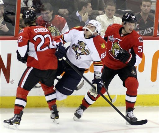 Butler gives Senators OT win over Panthers
