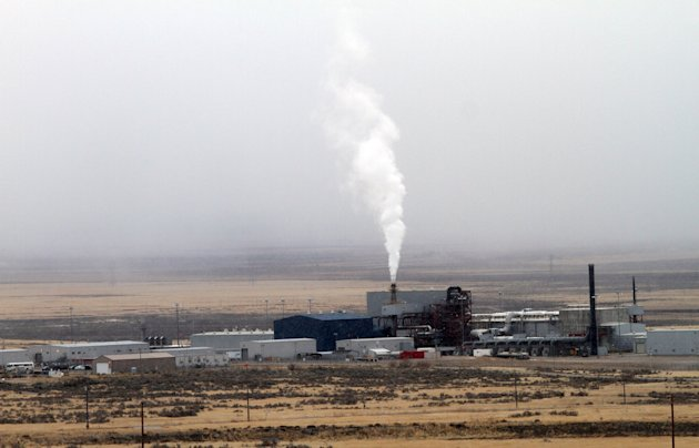 The TOCDF (Tooele Chemical Agent Disposal Facility) is seen, Wednesday, Jan. 18, 2012 in Stockton, Utah. (AP Photo/The Salt Lake Tribune, Rick Egan) DESERET NEWS OUT; LOCAL TV OUT