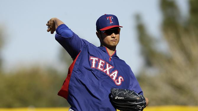 Rangers put Darvish, Harrison on DL as expected
