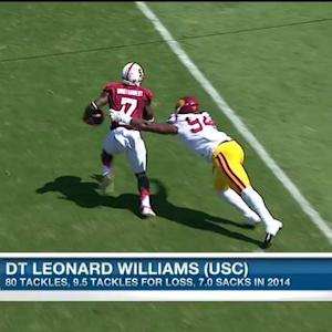 Was New York Jets defensive end Leonard Williams the steal of the draft?