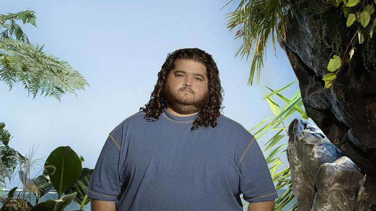 "Jorge Garcia stars as Hurley on ""Lost."""