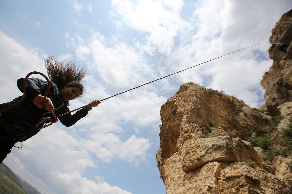 Climbing high in the occupied West Bank
