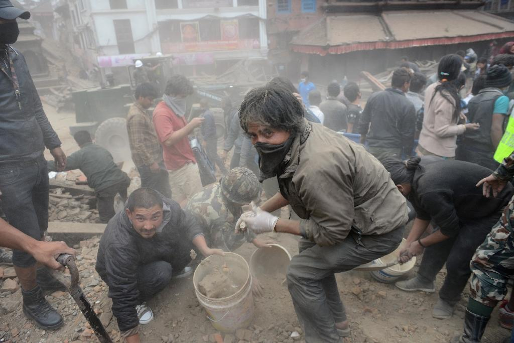 Nepal earthquake: LIVE REPORT