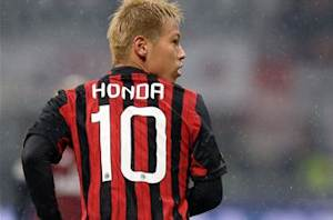 Keisuke Honda: I am just at 50 percent of my level of play