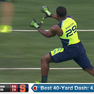 2014 Combine workout: Jerome Smith