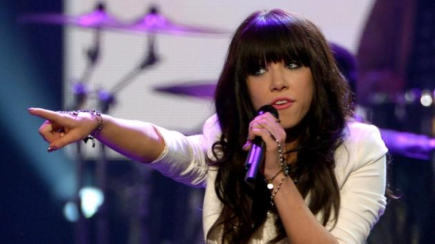 Carly Rae Jepsen performs onstage during the 40th American Music Awards held at Nokia Theatre L.A. Live on November 18, 2012 in Los Angeles -- Getty Images