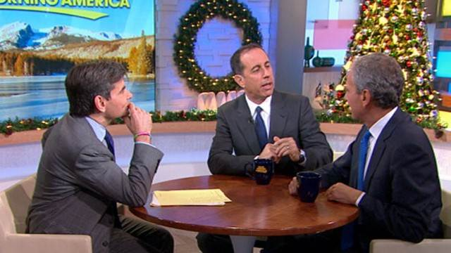Jerry Seinfeld on Importance of Meditation for PTSD