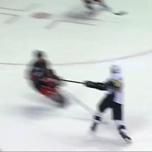 Engelland wrists one five-hole on Hiller