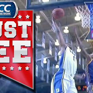 Jabari Parker Throws Down Nasty Dunk | ACC Must See Moment