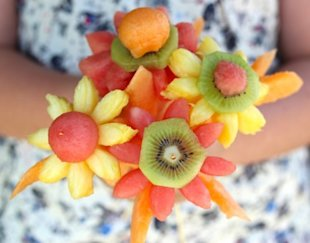 Watermelon Flowers