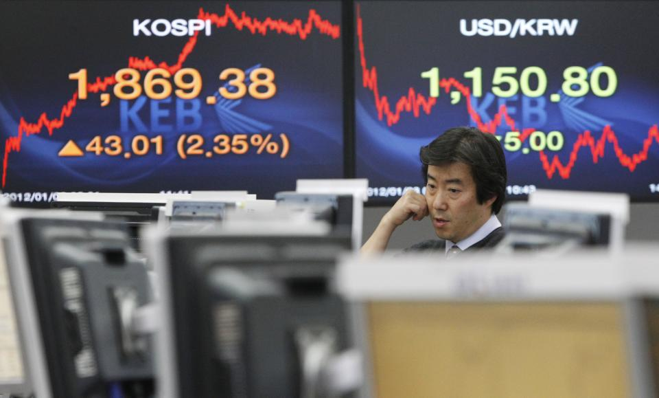 Stocks buoyant after strong US economic data