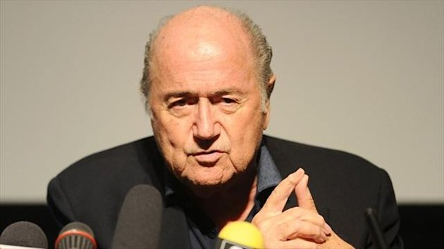 FIFA president Sepp Blatter has criticised players who dive