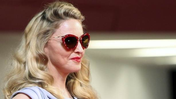 Madonna and Football, Together at Last