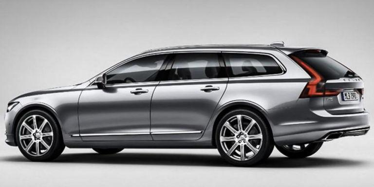 The V90 Is Volvo's First Full Sized Wagon in Ages