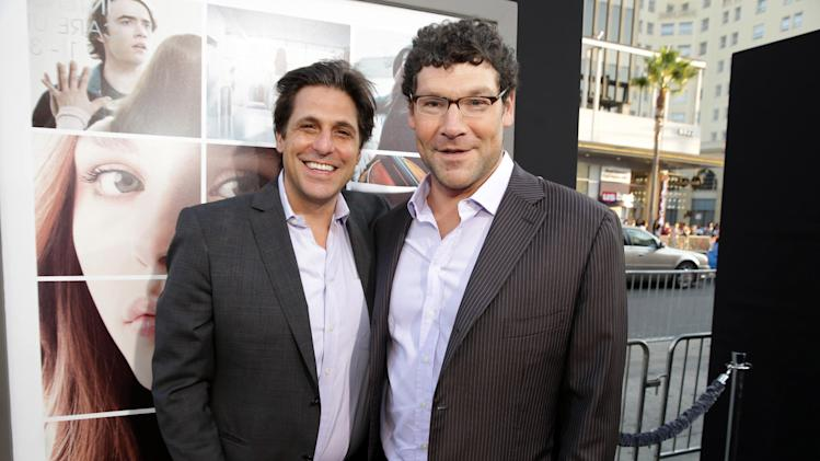 President, Motion Picture Group for MGM Jonathan Glickman and New Line Cinema's Richard Brenner seen at the Los Angeles World Premiere of New Line Cinema's and Metro-Goldwyn-Mayer Pictures' 'If I Stay' held at TCL Chinese Theatre on Wednesday, August 20, 2014, in Hollywood. (Photo by Eric Charbonneau/Invision for Warner Bros./AP Images)