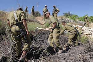 Israeli security forces take part in the operation…
