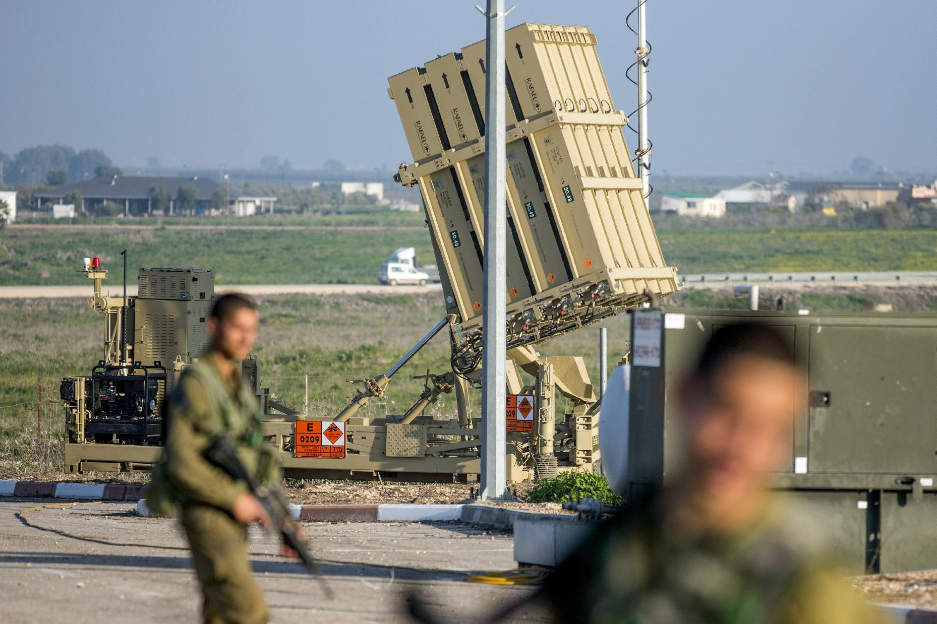 Rockets fired from Syria hit Israeli-held Golan