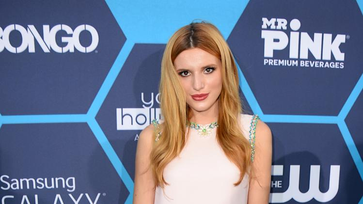 IMAGE DISTRIBUTED FOR BONGO - Bella Thorne arrives at the 16th Annual Young Hollywood Awards sponsored by Bongo at The Wiltern on Sunday, July 27, 2014 in Los Angeles. (Photo by Jordan Strauss/Invision for Bongo/AP Images)