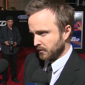 "Aaron Paul takes on ""Need for Speed"""