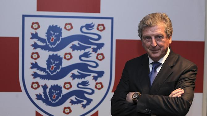 Newly appointed England soccer manager Roy Hodgson poses for a photograph in the tunnel at Wembley Stadium in London Tuesday  May 1, 2012. Hodgson was appointed England manager on a four-year contract on Tuesday, ending months of speculation over who would lead the national team to next month's European Championship. . (AP Photo/Andy Couldridge, Pool)