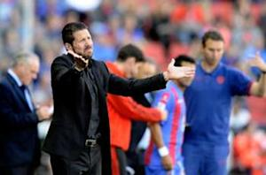 Diego Simeone: Defeat can benefit Atletico