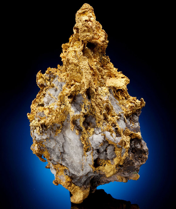 Earthquakes Turn Water Into Gold