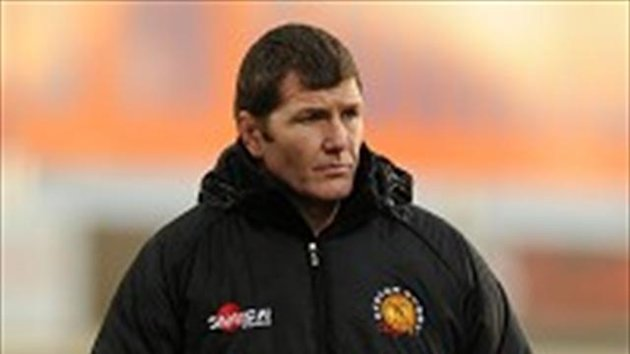 Rob Baxter is eyeing up a play-off place in the Aviva Premiership
