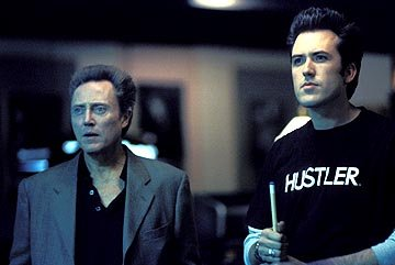 Christopher Walken and Mars Callahan in Gold Circle's Poolhall Junkies