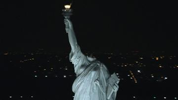 A decapitated Statue of Liberty in Paramount Pictures' Cloverfield