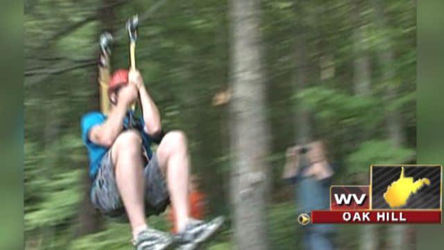 Across America: West Virginia zip-liners break world record