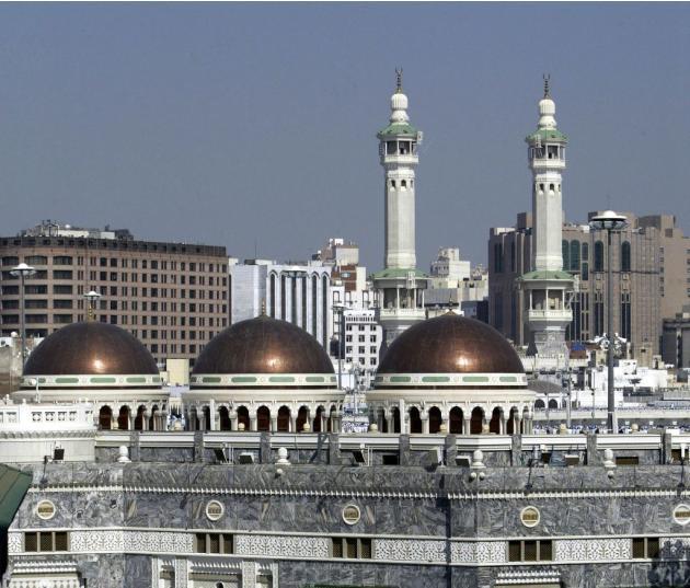 Grand Mosque, Mecca, Saudi Arabia - 63.4KB
