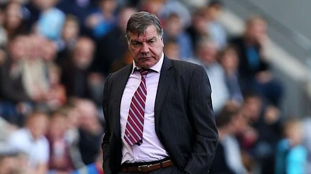 Sam Allardyce of West Ham (PA Photos)