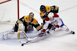 NHL: Stanley Cup Playoffs-Montreal Canadiens at Boston Bruins