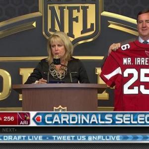 Arizona Cardinals pick tight end Gerald Christian as Mr. Irrelevant