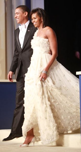 Michelle obama 2008 inauguration gown