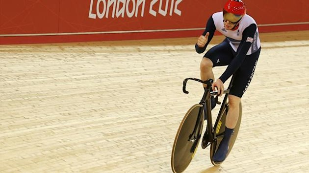 Ed Clancy, Olympic Velodrome (Reuters)