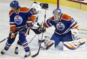 Oilers rally past winless Kings 2-1 in overtime