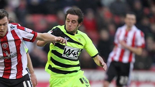 Hartlepool's new signing Matt Dolan in action for Yeovil last season