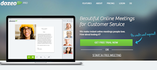 Dozeo Review – Beautify Digital Encounters image Dozeo 1 Landing Page
